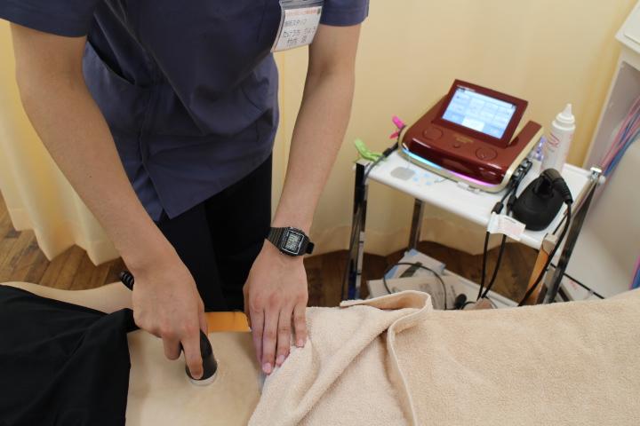 腰痛への施術